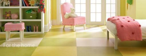 Marmoleum Click for residential applications